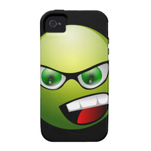 Screamin' Green Meanie iPhone 4 Cover