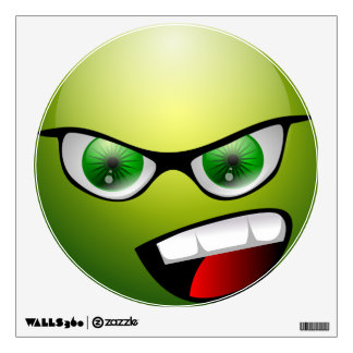 Screamin' Green Meanie Wall Decal