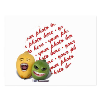Screamin' Lemon and Lime with Lemon Zester Postcard