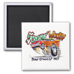 "Screamin' Woody 2"" Magnet"