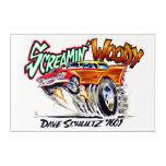 Screamin' Woody Drawing Acrylic Print