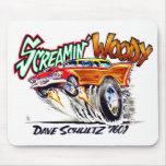 Screamin' Woody T-Shirt Mouse Pad