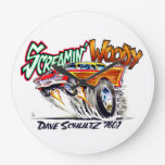 Screamin' Woody Wall Clock