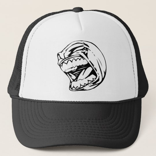 Screaming Baseball Trucker Hat