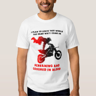 Screaming Blood Dirt Bike Motocross Shirt