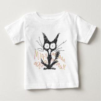 Screaming cat *Migyaaa! *Colorful-Font Tee Shirt