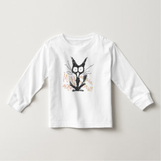 Screaming cat *Migyaaa! *Colorful-Font Toddler T-shirt