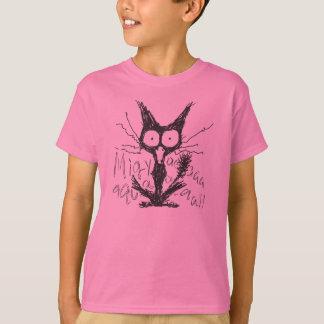 Screaming cat *Migyaaa! T-Shirt