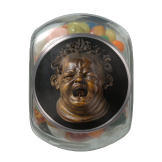 Screaming Child Stung by a Bee Jelly Belly Candy Jars