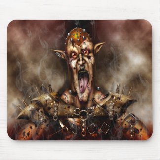 Screaming Demon Mouse Pad