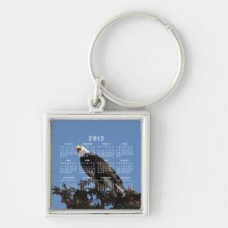 Screaming Eagle; 2012 Calendar Keychain