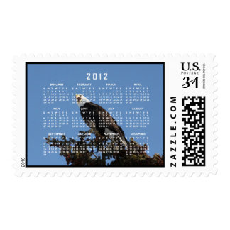 Screaming Eagle; 2012 Calendar Postage