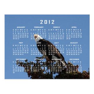 Screaming Eagle; 2012 Calendar Postcard