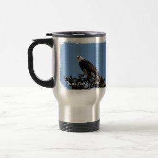 Screaming Eagle; Customizable Travel Mug