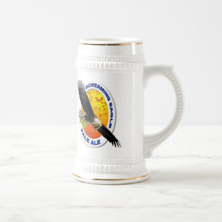 Screaming Eagle Pale Ale Beer Stein