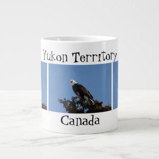 Screaming Eagle; Yukon Territory Souvenir Giant Coffee Mug