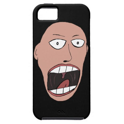 Screaming Face iPhone 5 Cover