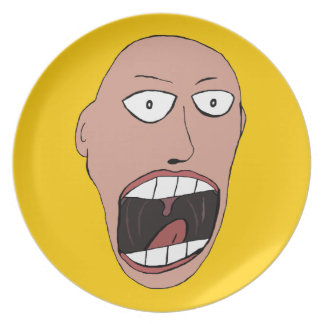 Screaming Face Plate
