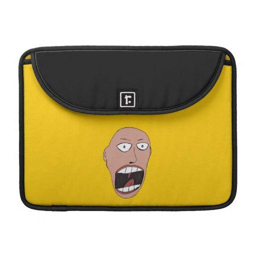 Screaming Face Sleeve For MacBooks