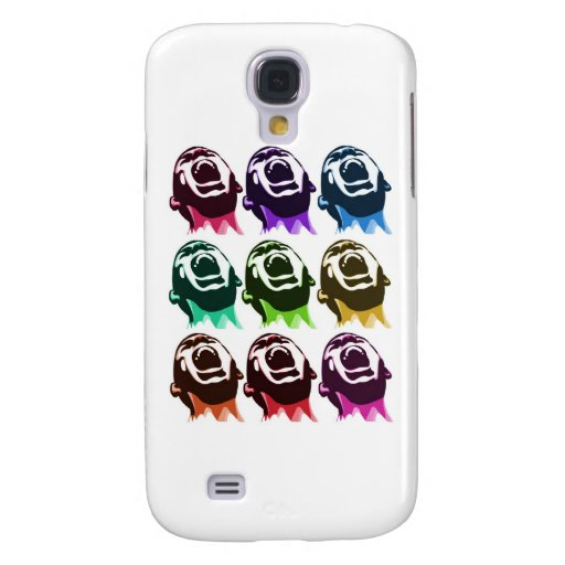 Screaming faces samsung galaxy s4 cover