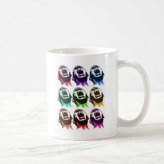 Screaming faces coffee mug
