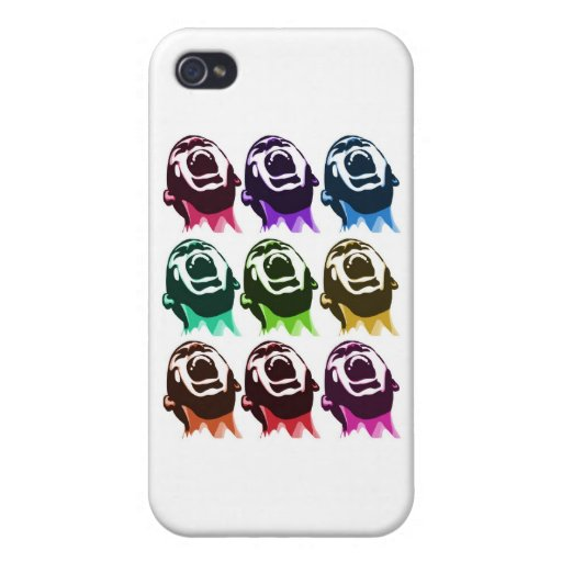 Screaming faces case for iPhone 4