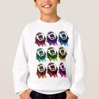 Screaming faces sweatshirt
