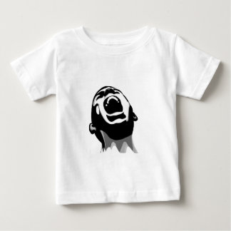 Screaming for help baby T-Shirt