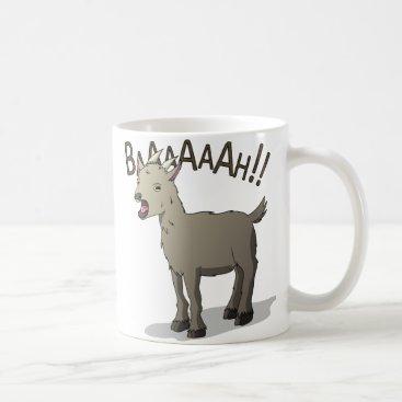 DoodleNoodleDesigns Screaming Goat Doodle Noodle Designs Coffee Mug