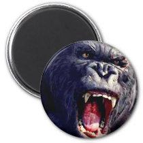 Screaming Gorilla Magnet