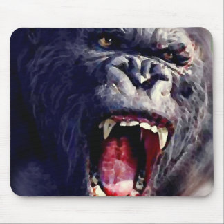 Screaming Gorilla Mouse Pad