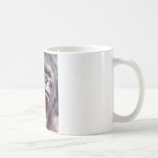 Screaming Gorilla Classic White Coffee Mug