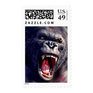 Screaming Gorilla Postage