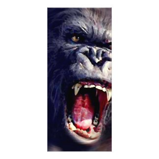 Screaming Gorilla Rack Card