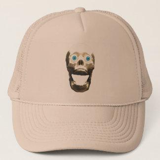 Screaming Gothic Skull - Halloween Horror Trucker Hat