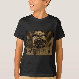 Screaming Head with Demonic Hand T-Shirt