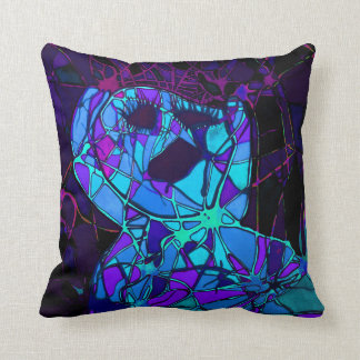 """Screaming in Pain 16"""" x 16"""" Pillow"""