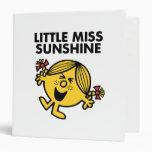Screaming Little Miss Sunshine 3 Ring Binders