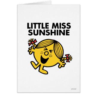 Screaming Little Miss Sunshine Greeting Card