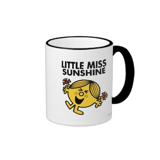 Screaming Little Miss Sunshine Ringer Coffee Mug