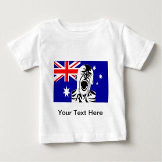 Screaming Man Australia Baby T-Shirt