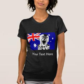 Screaming Man Australia T-Shirt