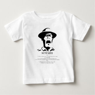 screaming man with definition baby T-Shirt