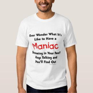 Screaming Maniac T Shirt