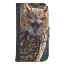 Screaming Owl Phone Wallet