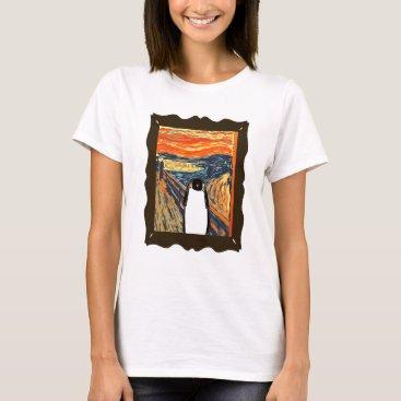 CathyGOriginals screaming penguin T-Shirt
