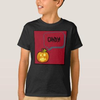 Screaming Pumpkin Halloween T-Shirt