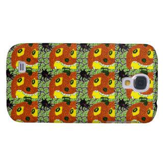 SCREAMING PUMPKIN n SPIDER Samsung Galaxy S4 Case