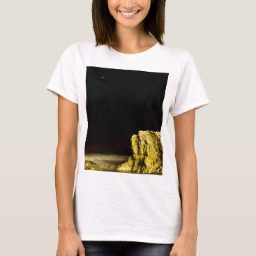 Beach Themed Screaming Rock T-Shirt