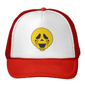 Screaming Scream Smiley Face Trucker Hat